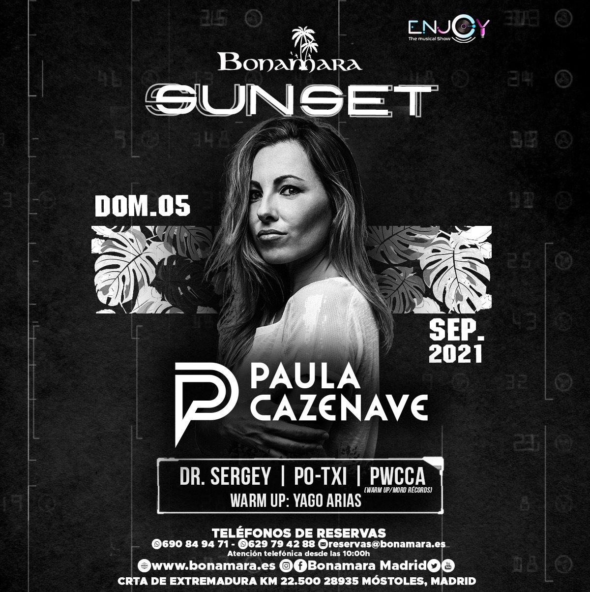 SUNSET ENJOY BONAMARA 05-09-2021 PAULA CAZENAVE