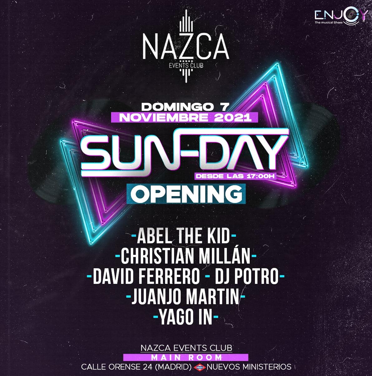 Nazca sun-day 07-11-21